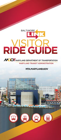 Visitor Ride Guide brochure