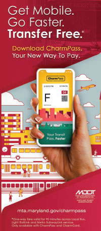 CharmPass Mobile Transit Fare App brochure