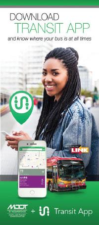 Transit App brochure